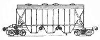 крытый вагон-хоппер для минеральных удобрений