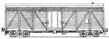 крытый двухъярусный вагон для скота
